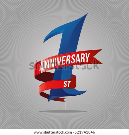 1st Anniversary Stock Images Royalty Free Images
