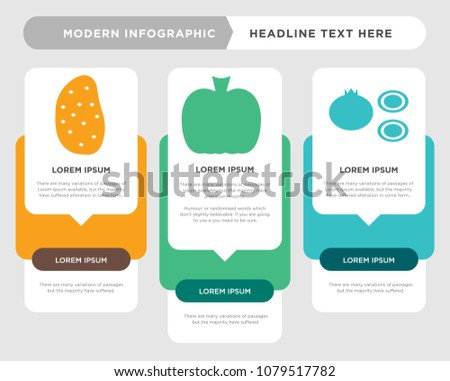 Onion business infographic template concept option stock photo onion business infographic template the concept is option step with full color icon can be ccuart Images