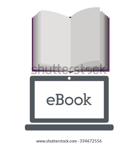 online bookstore design, vector illustration eps10 graphic