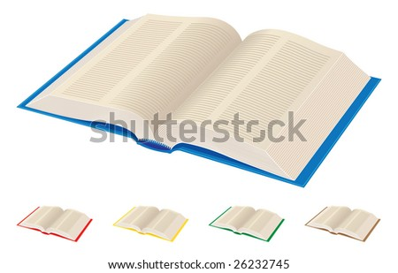 open book-vector