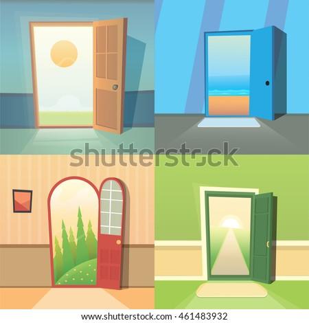Quot Exit Door Quot Stock Images Royalty Free Images Amp Vectors