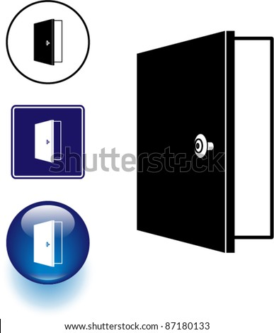 door icon stock photos images pictures shutterstock