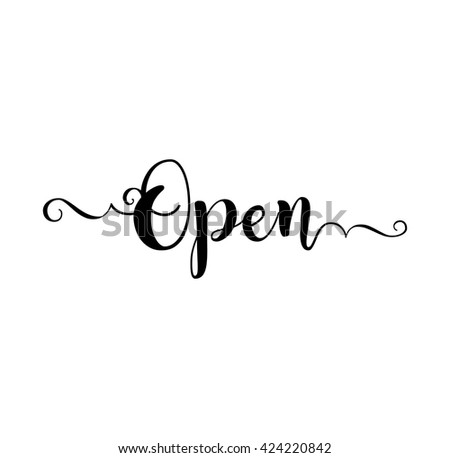 stock-vector-open-verb-english-beautiful