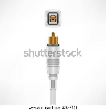 Optical In plug & socket