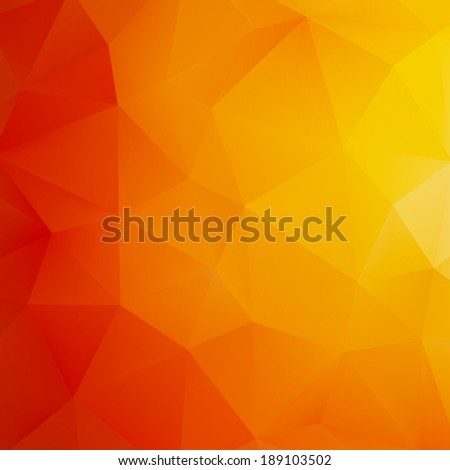 Orange Abstract Mesh Background.  EPS10 vector file - stock vector