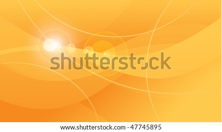 Orange background with lines