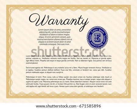 Warranty Card Stock Images RoyaltyFree Images  Vectors