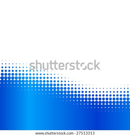 Orange half-tone background. Vector illustration. - stock vector