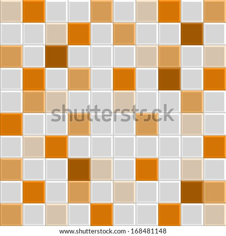 Orange Square Tile Texture Of Wall And Floor Interior Bathroom Pool