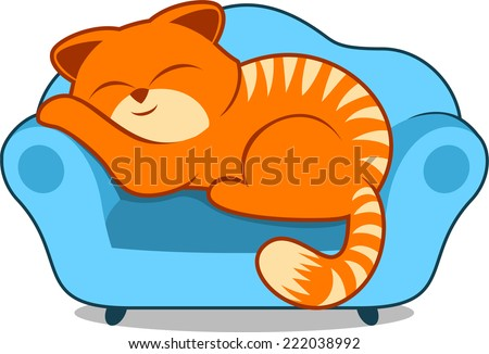 lazy cat clipart - photo #22