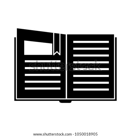 organizer planner book icon address book stock vector 1050018905