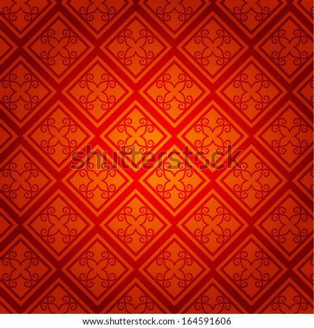 Oriental Chinese New Year Vector Design - stock vector