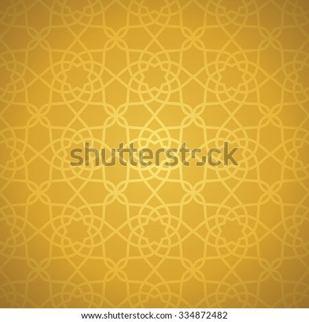 Oriental elegance background. Vector illustration. Seamless pattern - stock vector