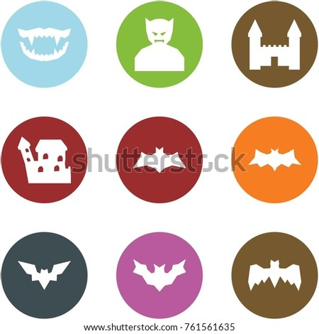 Origami Corner Style Icon Set Monster Stock Vector 761561635