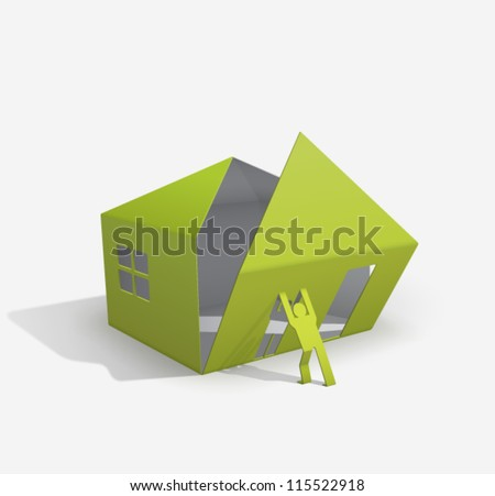 Origami House Builder For Your Easy Way To Build Or Buy