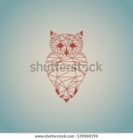 Light Green Origami Owl Vector Design Stock Vector ...   450 x 470 jpeg 31kB