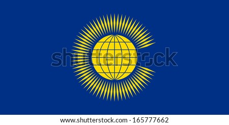original and simple Commonwealth of Nations (CIS) flag isolated vector in official colors and Proportion Correctly - stock vector