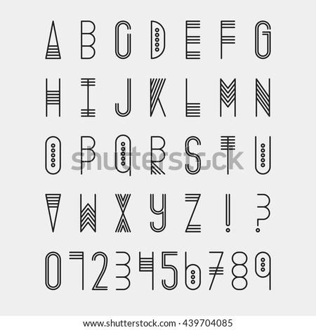 latin style font - photo #36