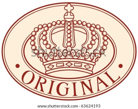 Royal Crown Symbol Stock Vector 75409144 Shutterstock