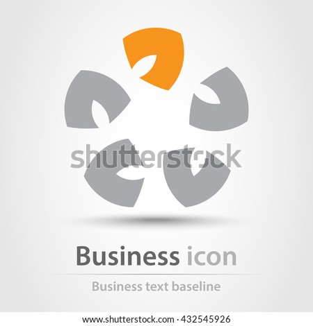 Originally created business icon for creative design tasks