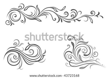 Ornament - stock vector