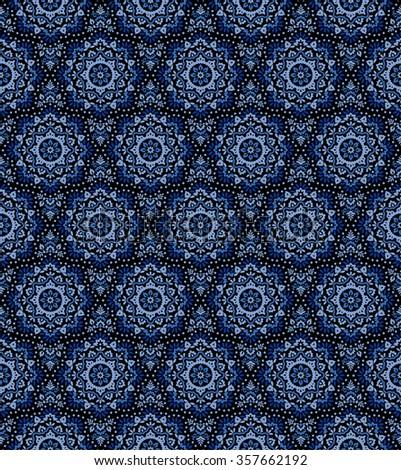 Ornament pattern illustration - stock vector