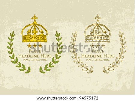 ornament template designs vector/illustration - stock vector