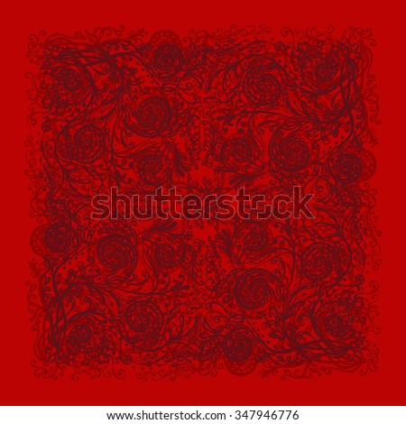 Ornamental background for cards, invitations, web pages