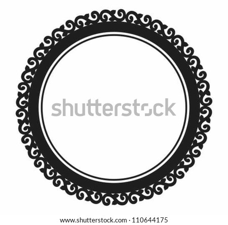 ornamental circle frame