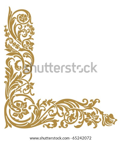 Gold Corner Stock Images, Royalty-Free Images & Vectors ...
