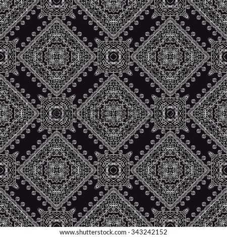Ornamental paisley pattern, for textile, wrapping, bandanna - stock vector