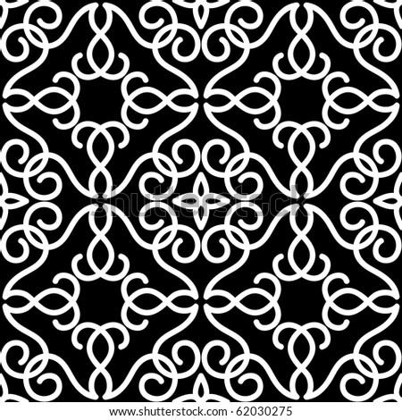 Ornamental seamless background - stock vector