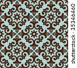 Ornamental seamless pattern. Vector abstract background. - stock