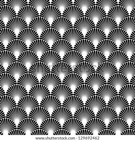 Ornamental seamless pattern. Vector abstract background - stock vector