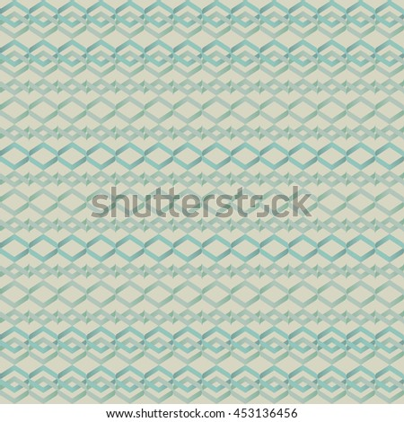 Ornamental wallpaper pattern. Vector abstract background.
