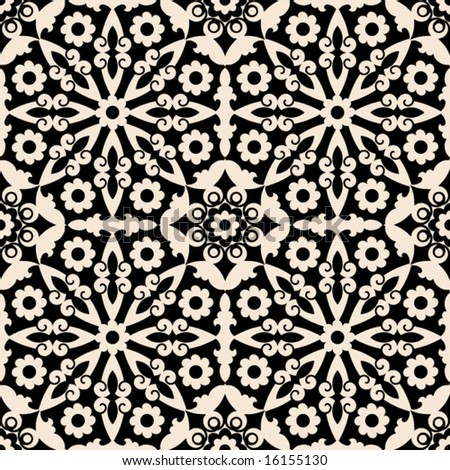 ornate baroque pattern