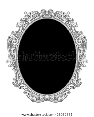 Ornate frame vector - stock vector