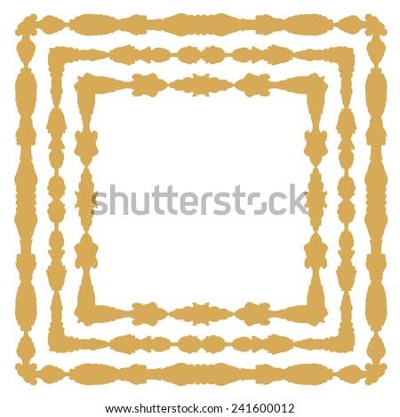 Ornate Vintage Frames Stock Vector 241600012 - Shutterstock