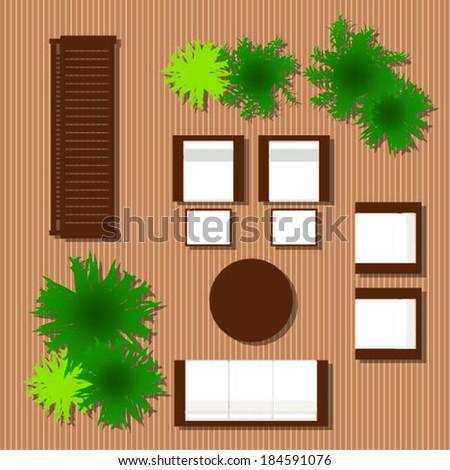 outdoor furniture for landscape design