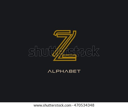 Outline letter z logo stock vector royalty free 470534348 outline letter z logo spiritdancerdesigns Image collections
