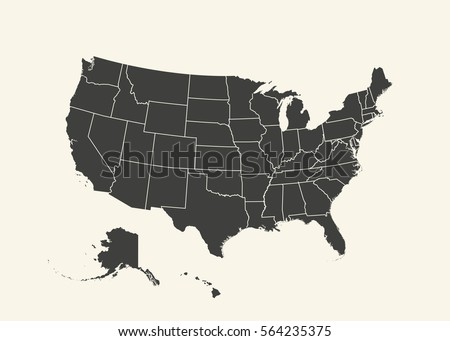 Outline Map Of Us Globalinterco - Tnt5902 us map