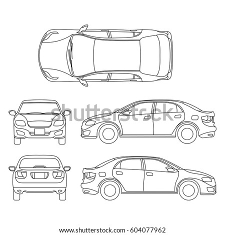 Car graphics on engine blueprints
