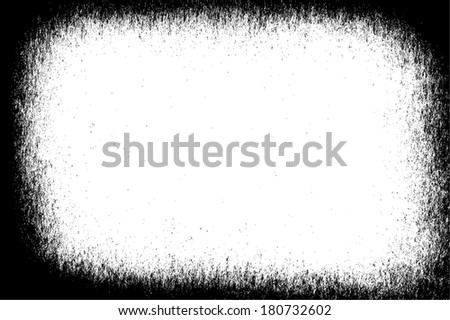 Overlay Vignetted Black Texture for your design.EPS10 vector. - stock vector