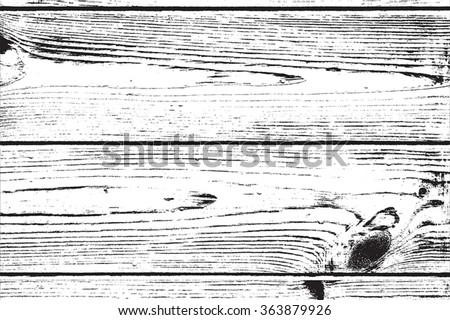 Overlay Wooden Planks - stock vector