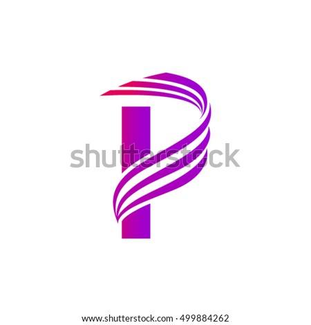 Letter P Logo Design S...P Logo Name