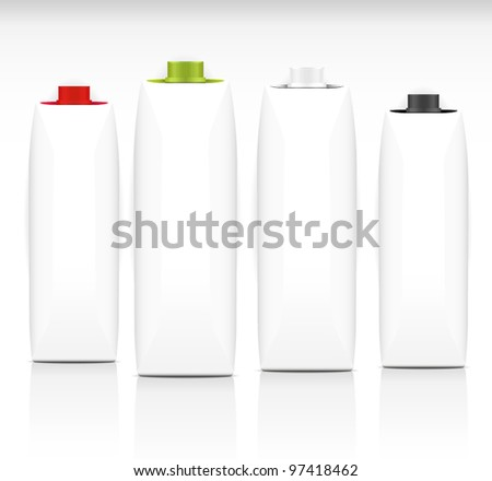 Pack set - stock vector