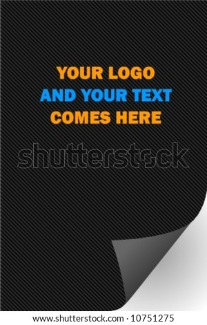 Page Flip - Paper - stock vector