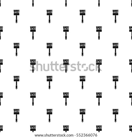 Paint brush pattern. Simple illustration of paint brush vector pattern for web