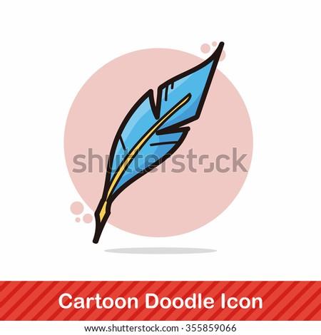 paint color doodle - stock vector