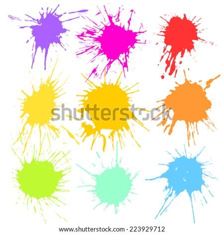 Paint Splash. - stock vector